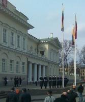 LRP vėliava keitimas ceremonija