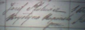 1805 m. Antalieptės bažnyčioje Juozapas vedė Kristiną Rupinskaitę