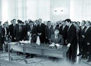 1991 sutarties pasirasymas svetainei